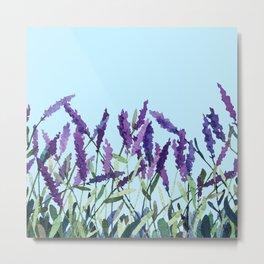 """Violet lavender"" Metal Print"