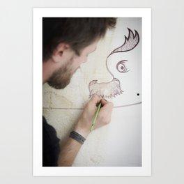 Danny Doom, Meerane 2011 Art Print