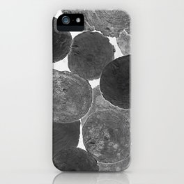 Abstract Gray iPhone Case
