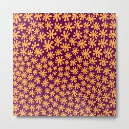Bright, Fun Abstract Pattern Designed by Design by Cheyney Metal Print