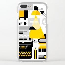 Creative Writing Clear iPhone Case