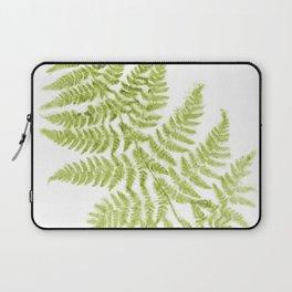 Fresh Fern Modern Botanical Laptop Sleeve
