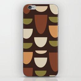 Brown & Orange Bowls iPhone Skin