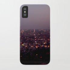 Angel City Lights, L.A. at Night (No. 2) iPhone X Slim Case