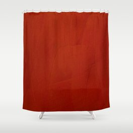 Italian Style Red Stucco - Corbin Henry Shower Curtain