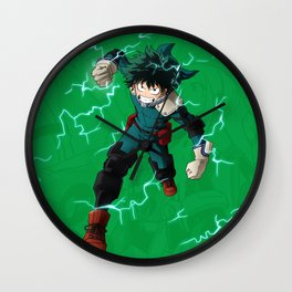 Deku - One for all Wall Clock