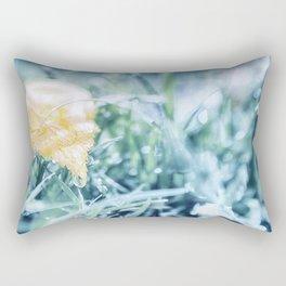 After an Autumn Rain Rectangular Pillow