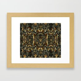 K-108 Abstract Lighting Abstract Framed Art Print