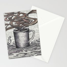 Waves of Roasted Goodness Stationery Cards