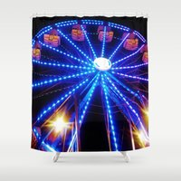 carnival Shower Curtains featuring Carnival by Catherine Donato