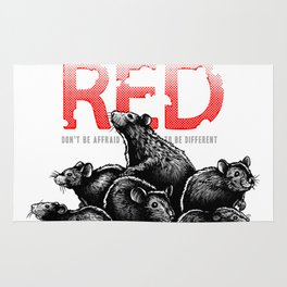 The Red Rat - be different Rug