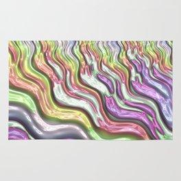 Colorful Waves Rug