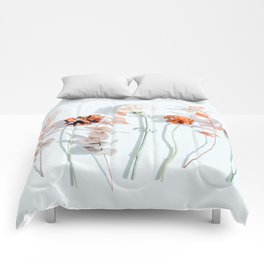 Minima #phoography #floral Comforters