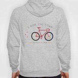 Chicago, Illinois by I Bike Hoody