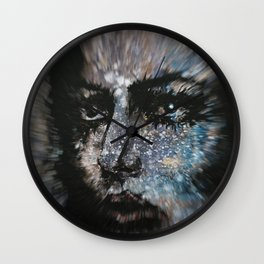 Sweet Frugality Motion 1 Wall Clock