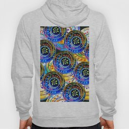 Circle design Number 5 Hoody