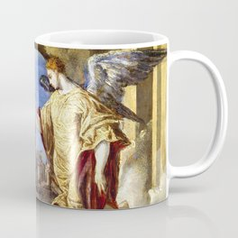 """El Greco (Domenikos Theotokopoulos) """"The Annunciation (1570)"""" Coffee Mug"""