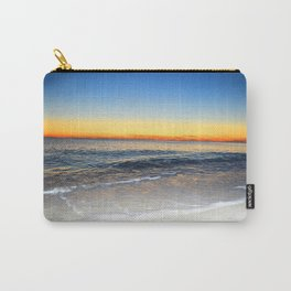 White Sand, Blue Water, Orange Sky Carry-All Pouch