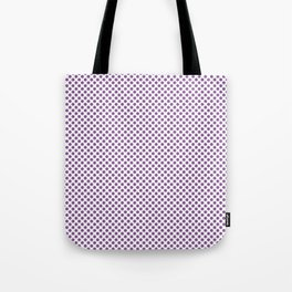 Dewberry Polka Dots Tote Bag
