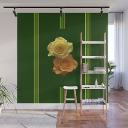 Season of the Flower - Rose Duet Wall Mural