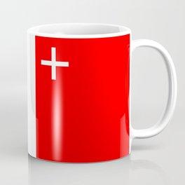 Neuchatel region switzerland country flag swiss Coffee Mug