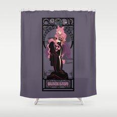 Black Lady Nouveau - Sailor Moon Shower Curtain