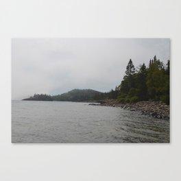 Lake Beach Canvas Print