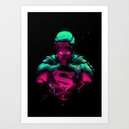 Man Of Steel 4 Art Print
