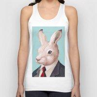 rabbit Tank Tops featuring Rabbit by Animal Crew