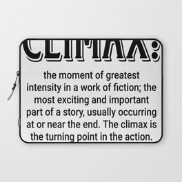 Climax defined Laptop Sleeve