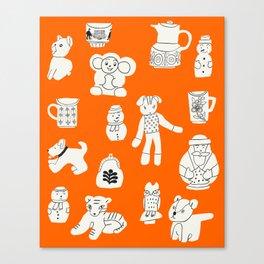 Czech Pals Canvas Print