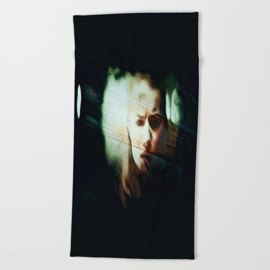 A Darker Hiding Place Beach Towel
