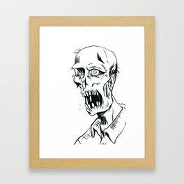 Worm Food Framed Art Print