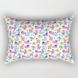 Infinite Sleepy Ducklings Rectangular Pillow