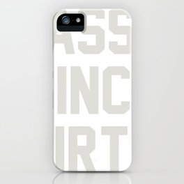New Typography Sassy Since Birth iPhone Case