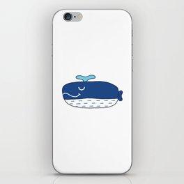Happy Whale iPhone Skin