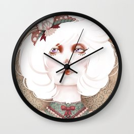 The Beauty Freaks - The Albino  Wall Clock