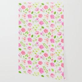 English Rose Pattern 08 Wallpaper