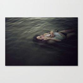 Drowned soul Canvas Print