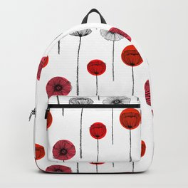 Papaveri rigati Backpack