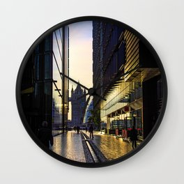 Sunrise on the South Bank Wall Clock