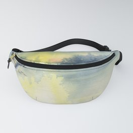 Flying Home - Great Blue Heron Fanny Pack