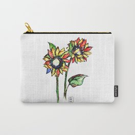 FlowerSun Carry-All Pouch