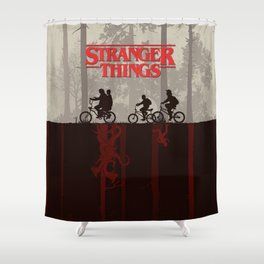 A little too strange Shower Curtain