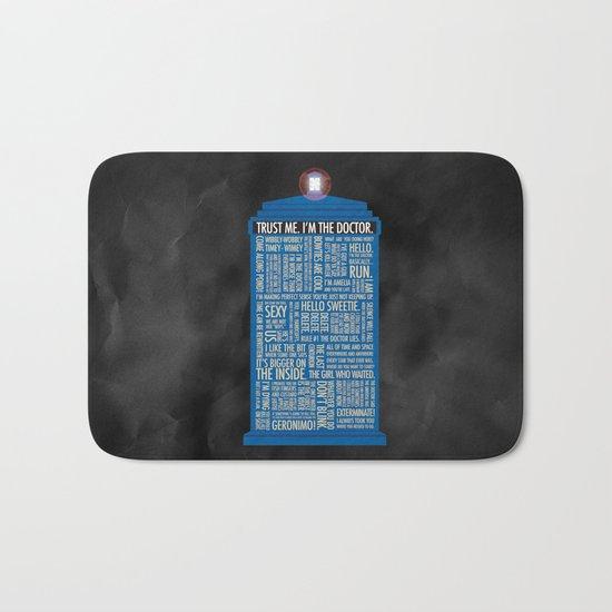 Doctor Who  Bath Mat