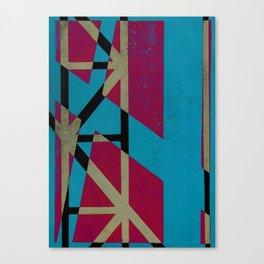 linear connection Canvas Print