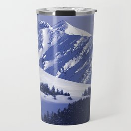 Back-Country Skiing - 8 Travel Mug