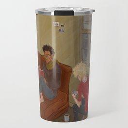 Golden Trio Travel Mug