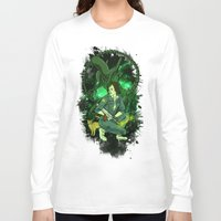ripley Long Sleeve T-shirts featuring Ripley by Ginger Breo