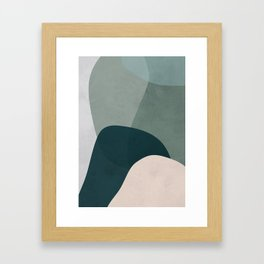 ORGANIC I Framed Art Print